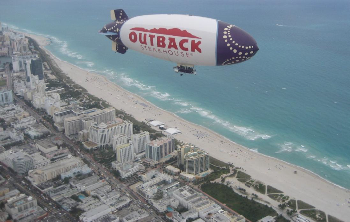 blimp advertising and services